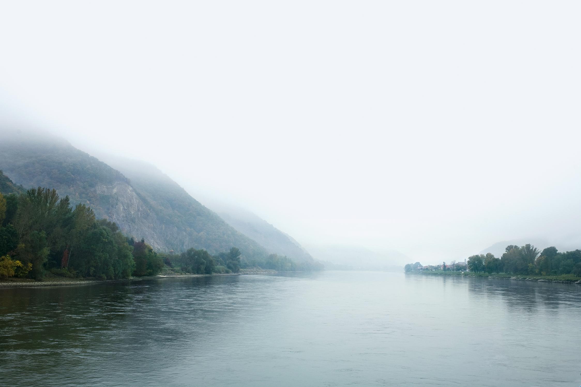 Die Donau entlang beim Welterbe Wachau