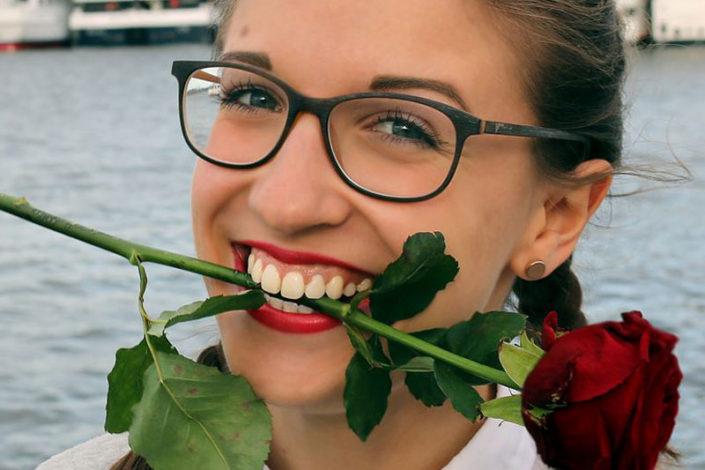 Anna-Maria Hickmann, 21 Jahre