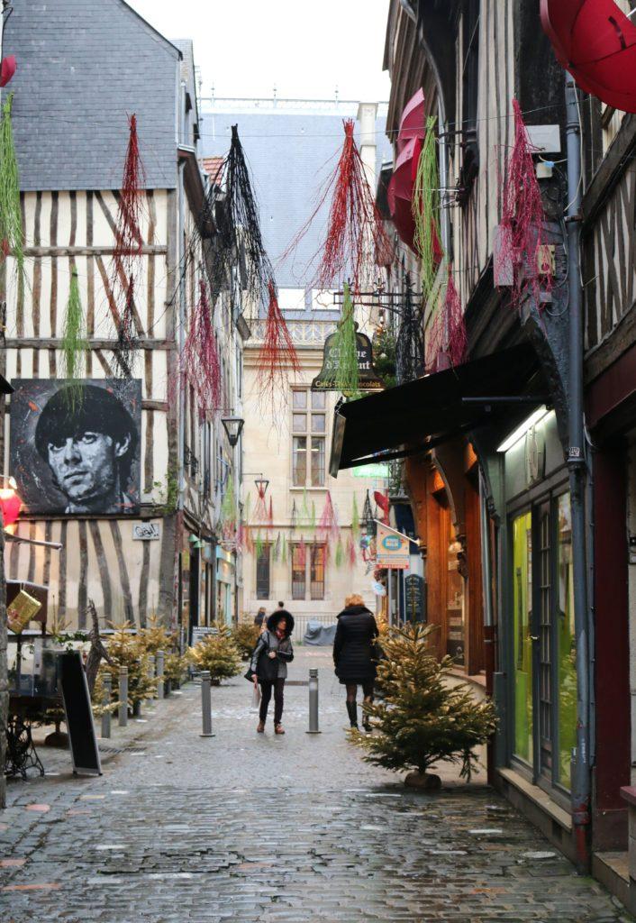 Die Altstadt von Rouen