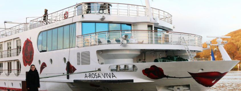 A-ROSA VIVA auf der Seine