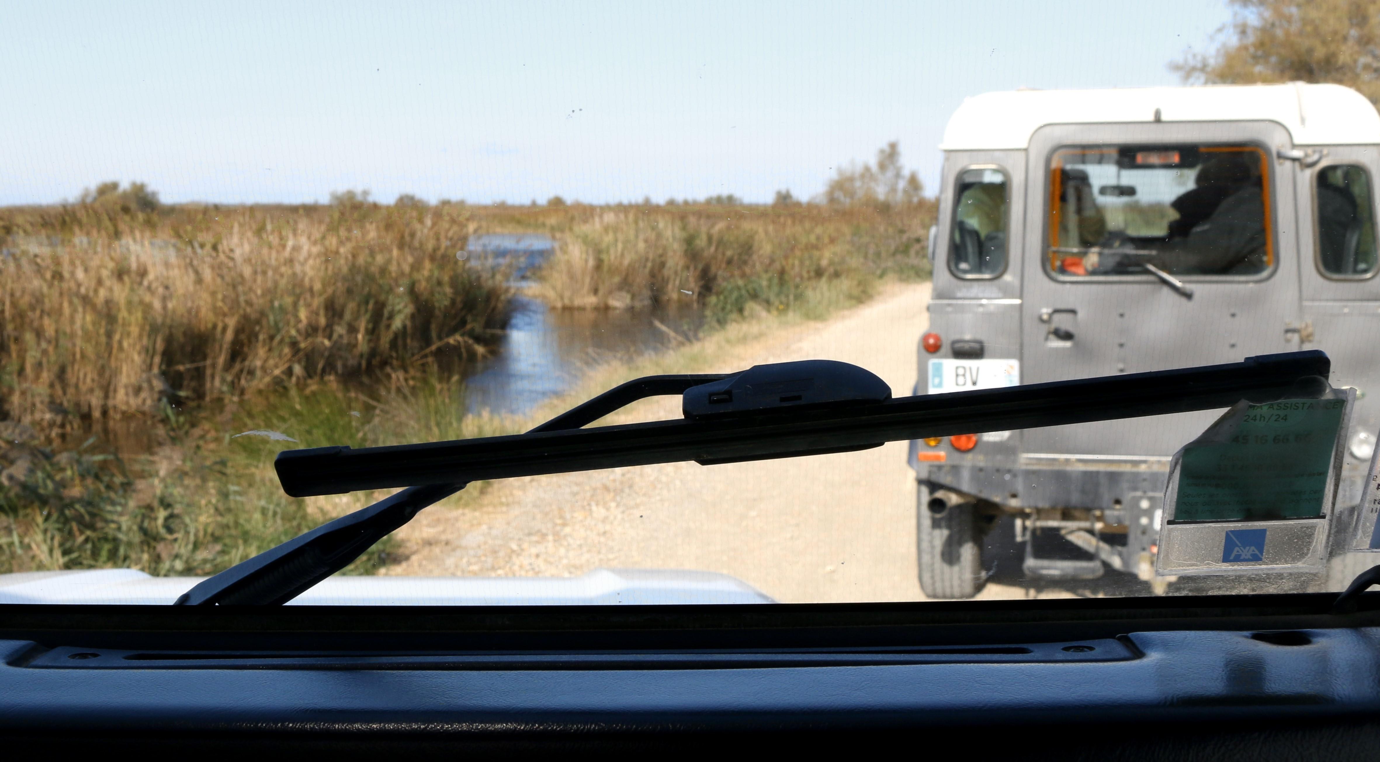 Unterwegs mit dem Jeep in der Carmargue