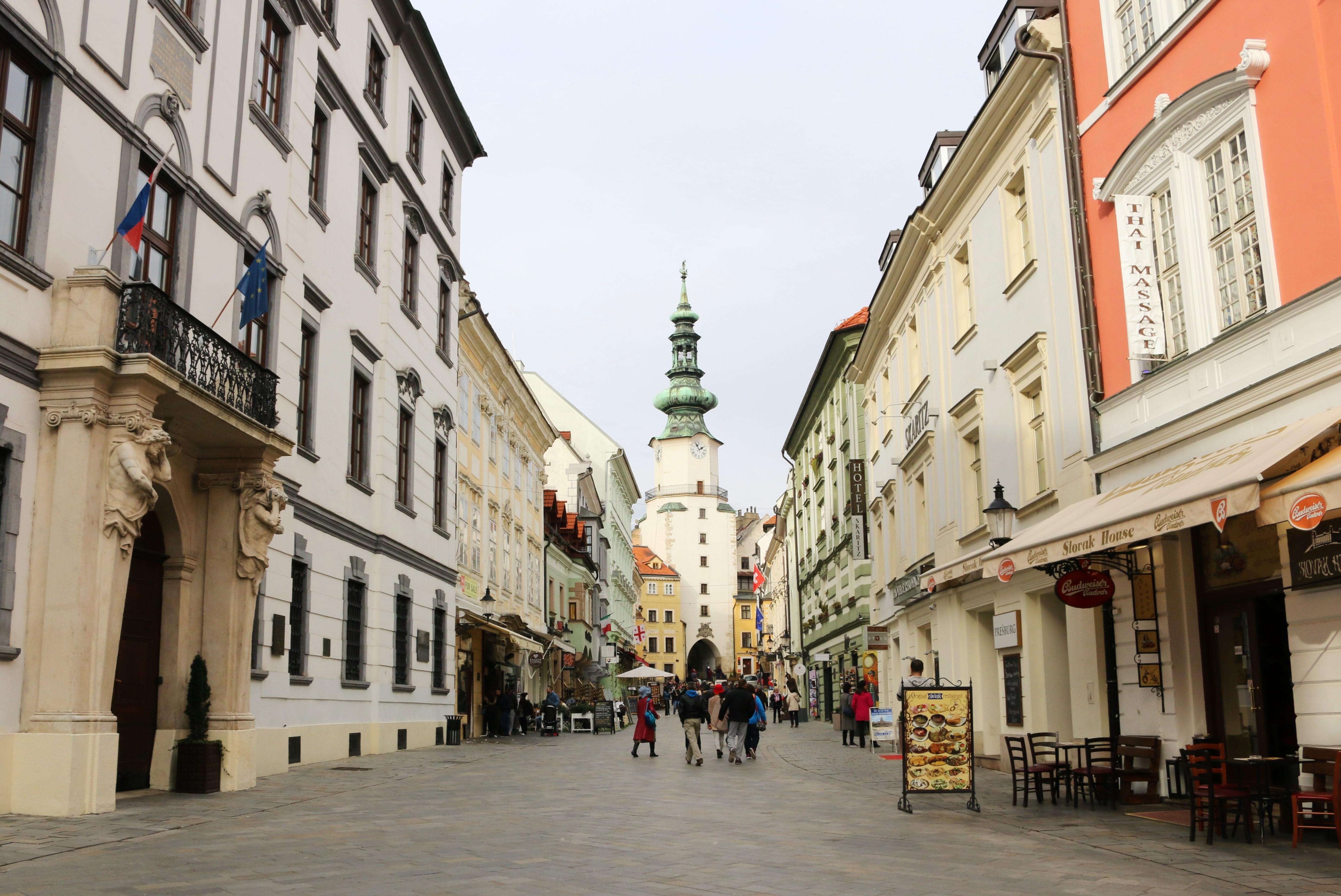 Die Innenstadt von Bratislava