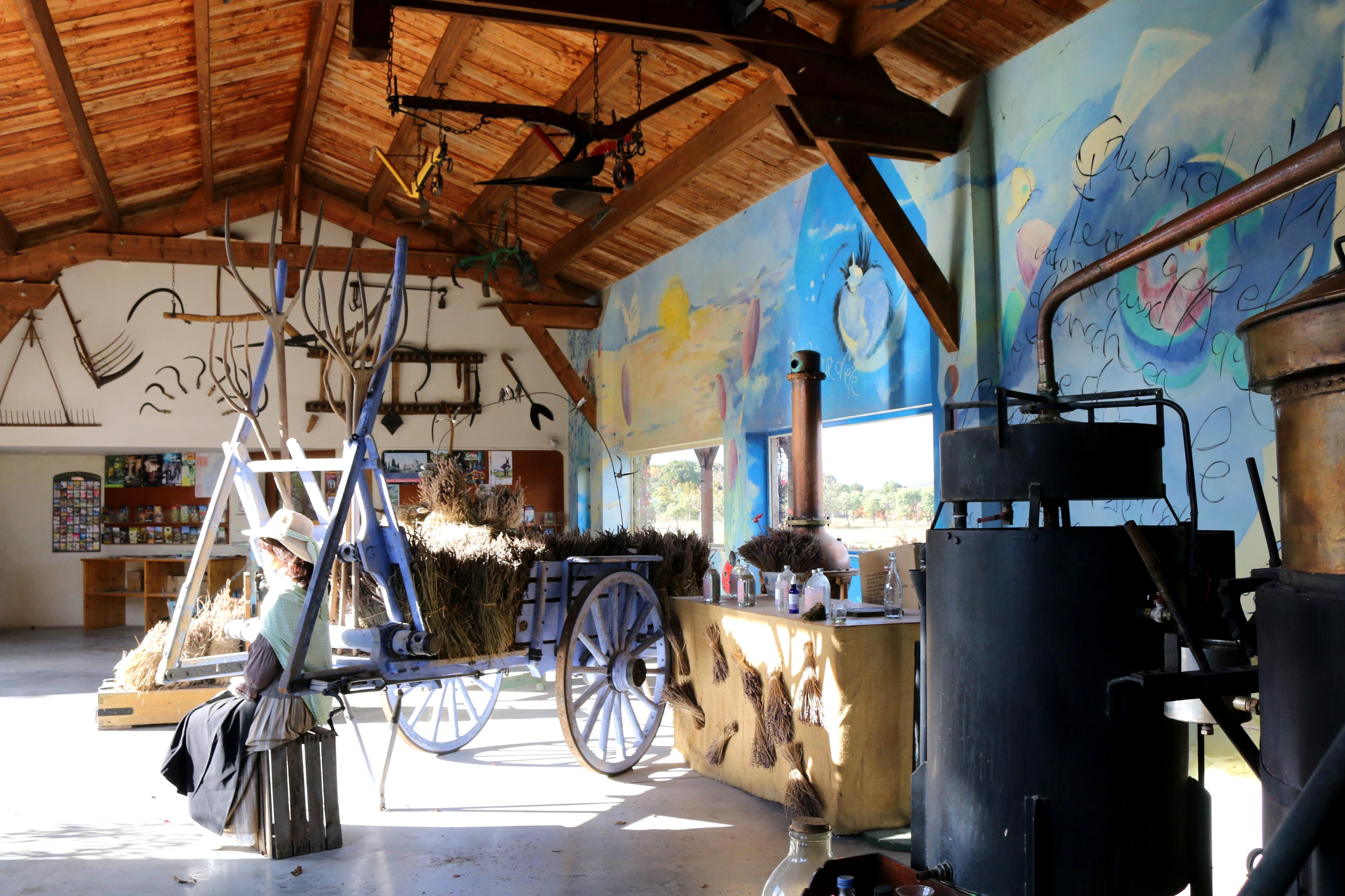 Das Lavendelmuseum in Südfrankreich