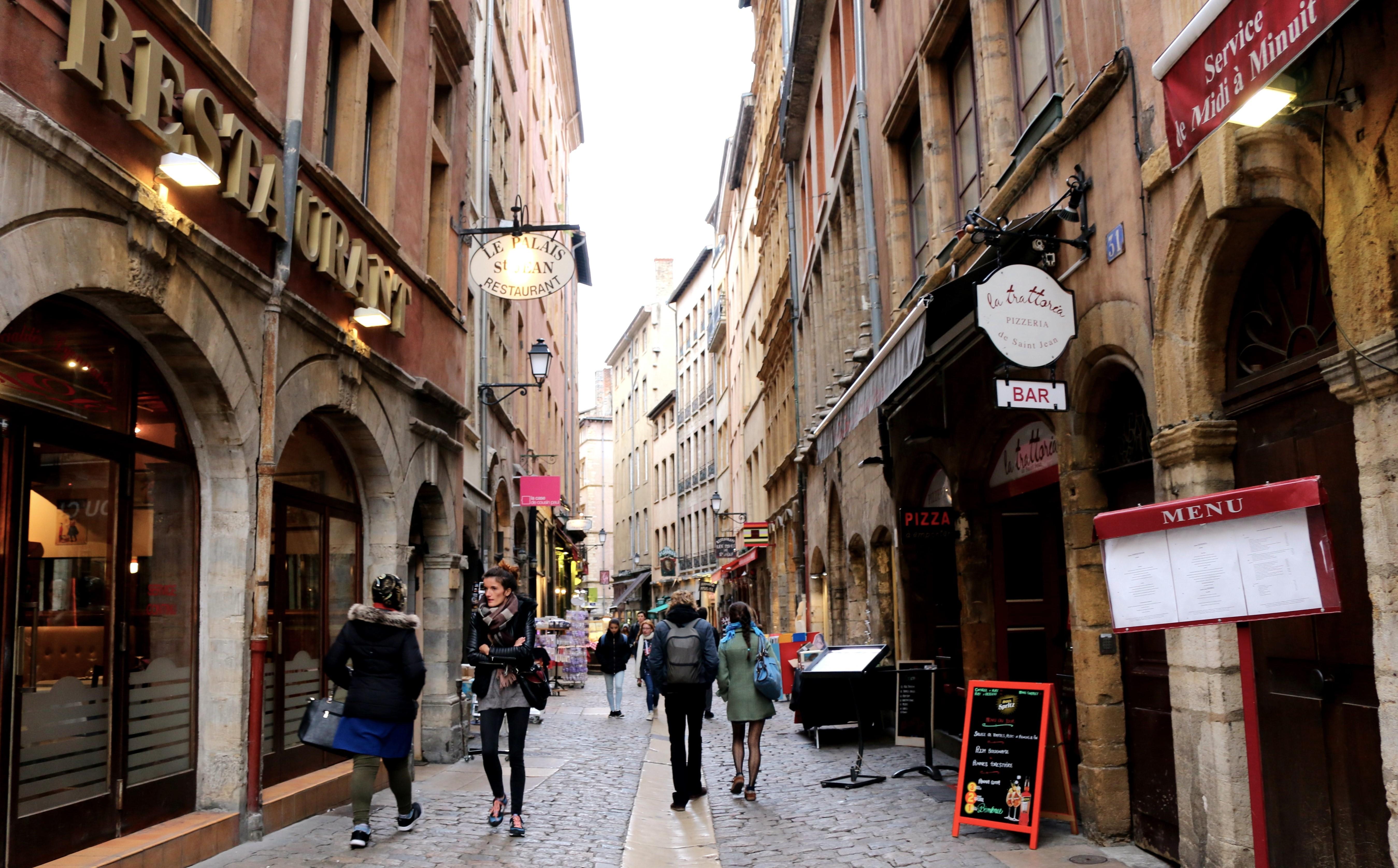 Die Altstadt von Lyon