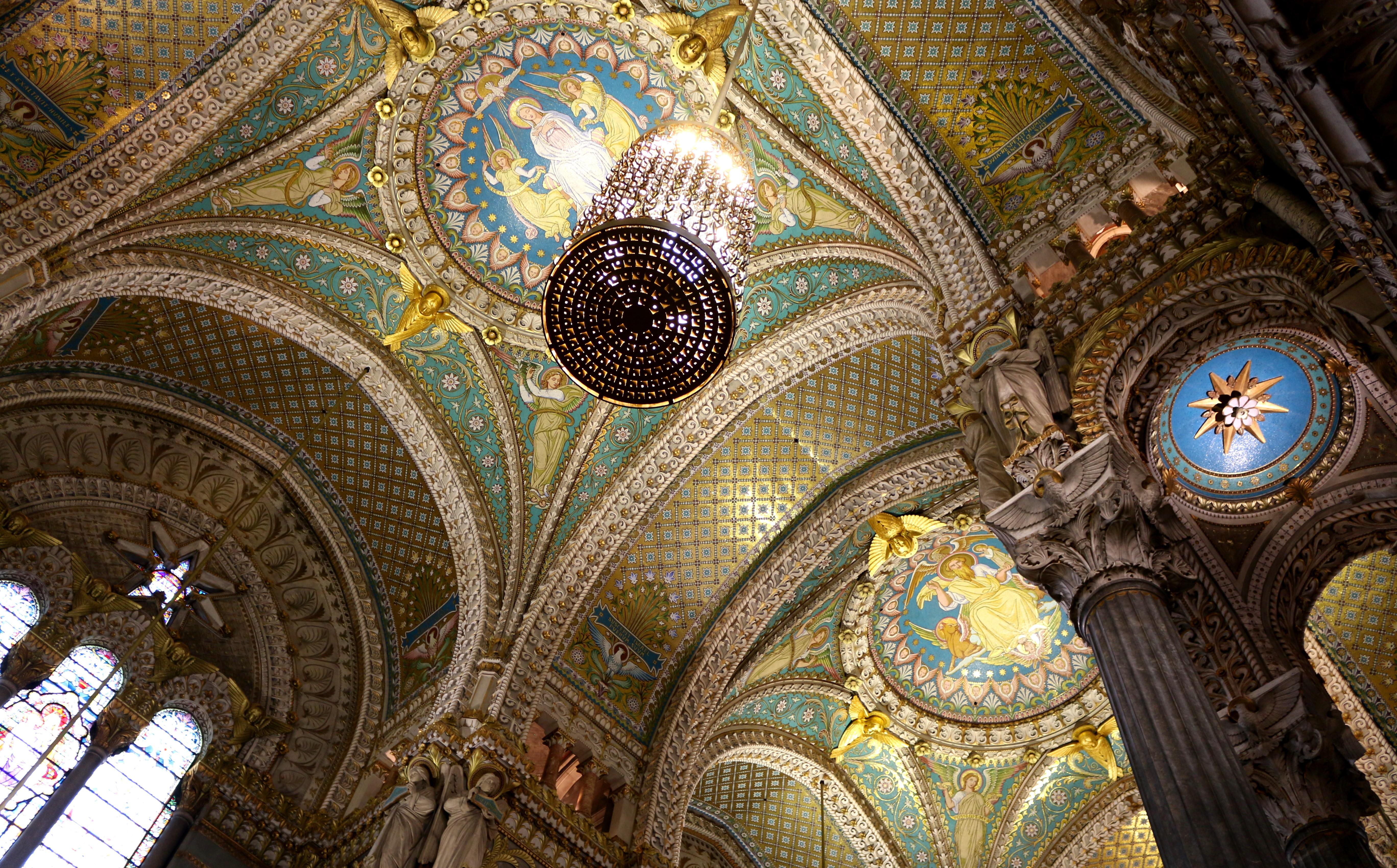 Die imposante Kathedrale von Lyon