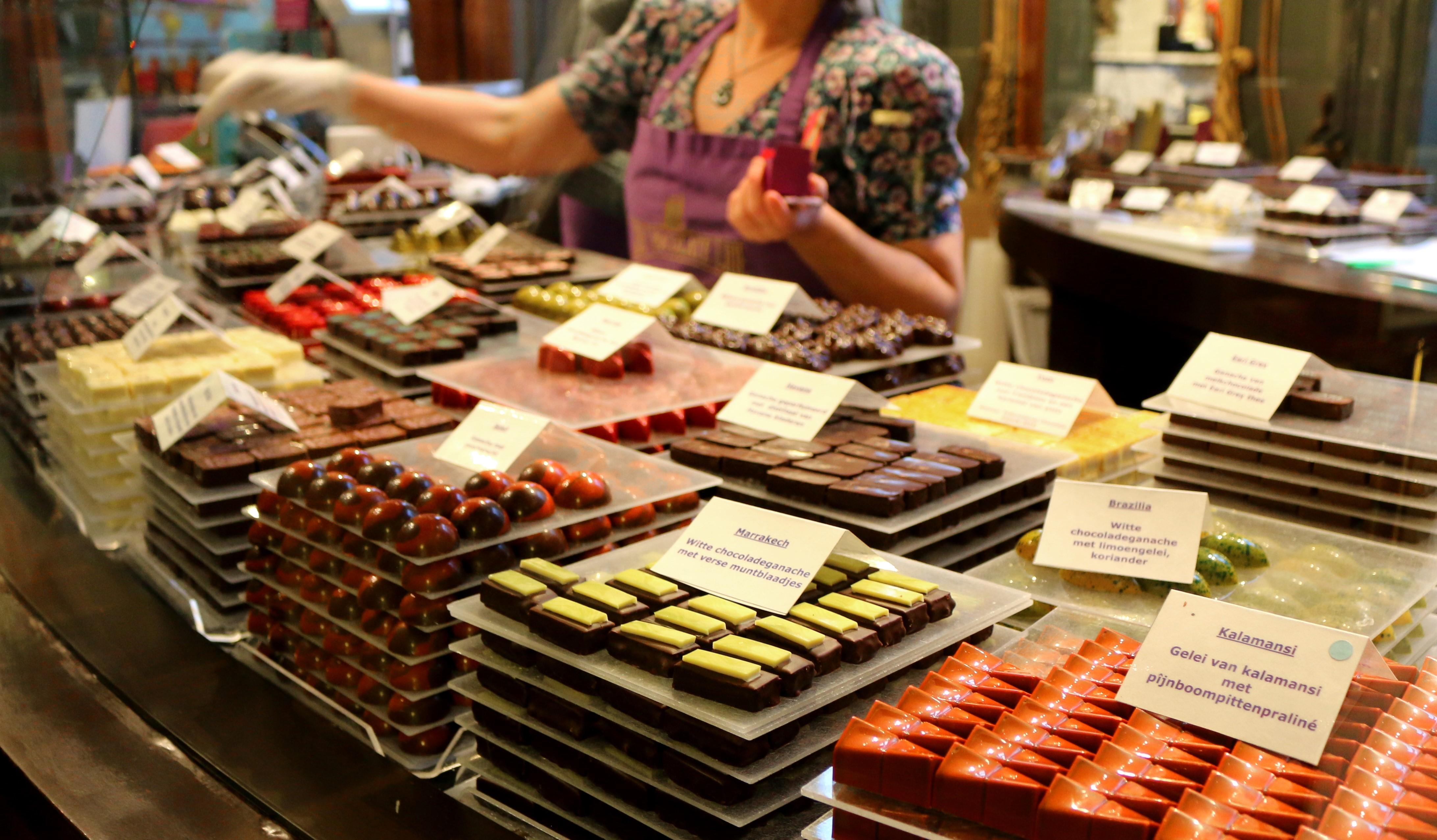 Schokolage in Atwerpen: Belgien ist ein Paradies