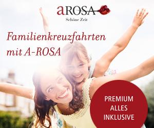 Familienkreuzfahrten mit Kindern bei A-ROSA