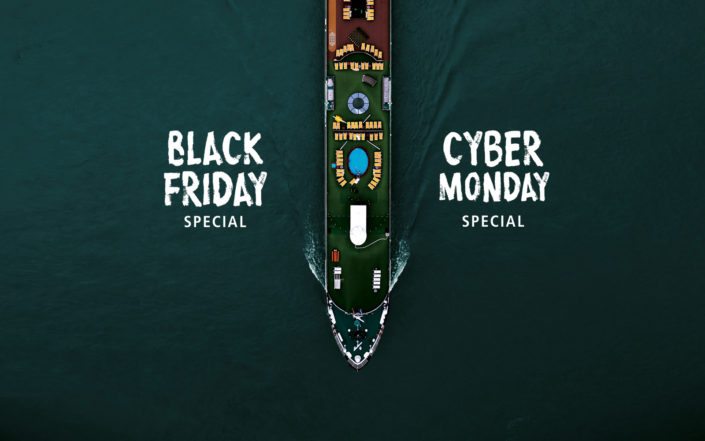 A-ROSA Specials zu Black Friday und Cyber Monday