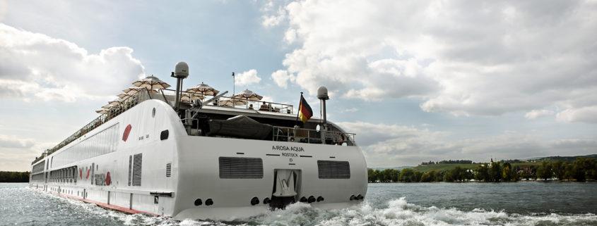 A-ROSA Schiff auf dem Fluss