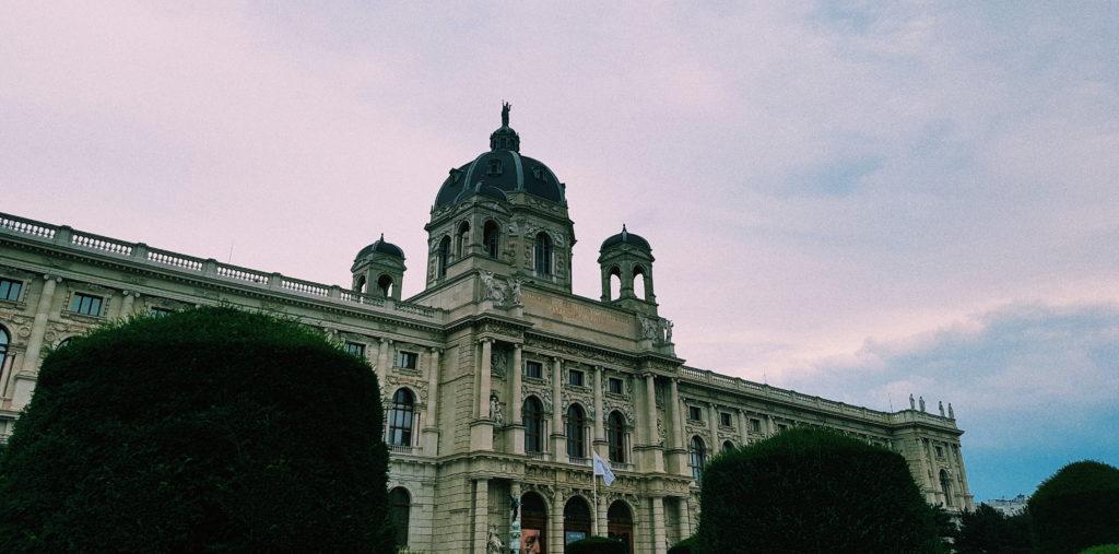 Das Kunsthistorische Museum in Wien.
